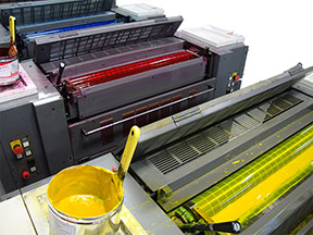 Full Color Printing Press Allegra Lansing