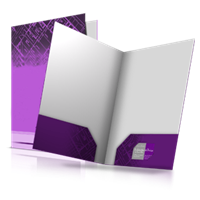 4x9 Small Size Presentation Folders