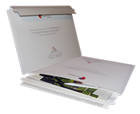 Portfolio Mailers with Zip-open flap