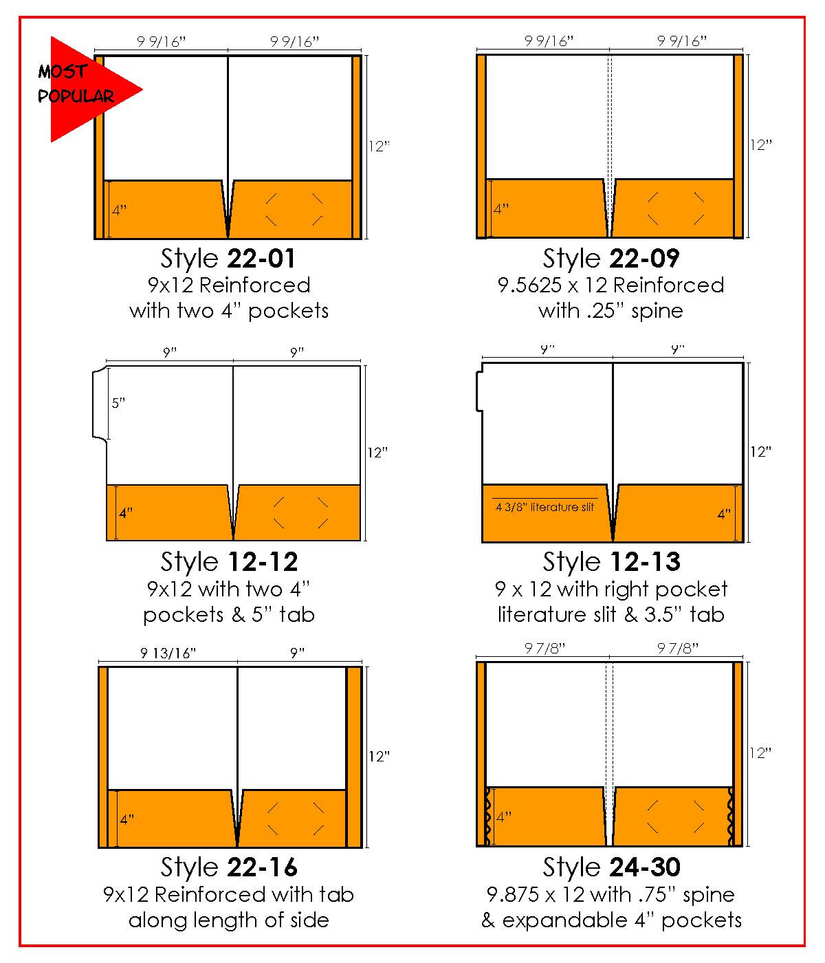 Reinforced Expandable And Tab Pocket Folder Printing In Lansing Mi